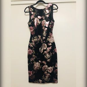 Midi Velvet Dress